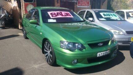 2004 Ford Falcon BA XR6 Green 4 Speed Auto Seq Sportshift Sedan Woodbine Campbelltown Area Preview
