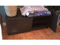 Ikea TV unit - cost £120 Besta Tv Bench UNIT Stand