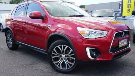2016 Mitsubishi ASX XB MY15.5 LS 2WD Red 6 Speed Constant Variable Wagon Bungalow Cairns City Preview