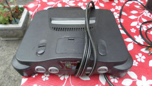 Nintendo 64 with all cables and one controller or best offer