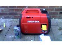 honda eu22i petrol inverter generator 2018 model brand new never been used.