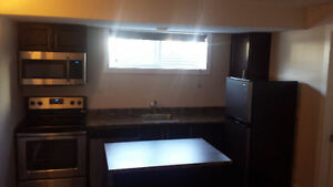 One Bedroom Basement Apartment- Washer Dryer/Dishwasher
