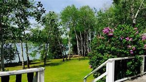 Waterfront Home on 2.1 acres! Affordable Living in the Cariboo!