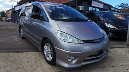 2005 Toyota Estima ACR30 Aeras Grey Automatic Wagon Greenacre Bankstown Area Preview
