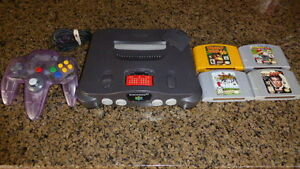 Nintendo N64 Bundle - Console and Games