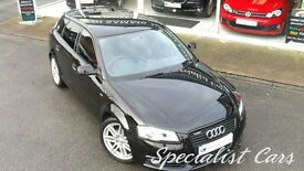 AUDI A3 2.0 SPORTBACK TDI S LINE SPECIAL EDITION 5d 138 BH (black) 2011