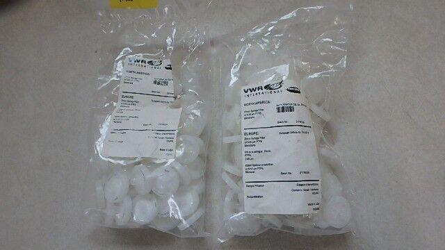 LARGE LOT NEW VWR 25MM Syringe Filters CP226
