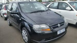 2005 Holden Barina TK Black 5 Speed Manual Hatchback Cheltenham Kingston Area Preview