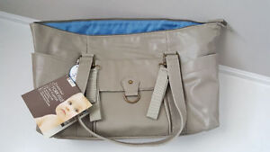 Baby Innovations Yorkville Baby Leather Diaper Bag BRAND NEW