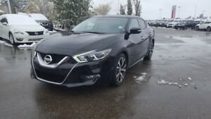2016 Nissan Maxima PLATINUM Navigation (GPS),  Leather,  Heated