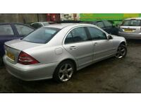 mercedes c220 c200 c180 BREAKING all parts available