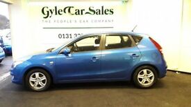HYUNDAI I30 1.6 COMFORT CRDI 5d FREE MOT and SERVICE FOR LIFE! (blue) 2009