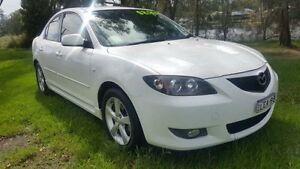 2006 Mazda 3 BK Maxx White 4 Speed Auto Activematic Sedan Tuggerah Wyong Area Preview