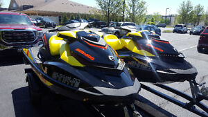 MATCHING SET, 2015 SEADOO GTR 215,SEA DOO, tag # 395,396