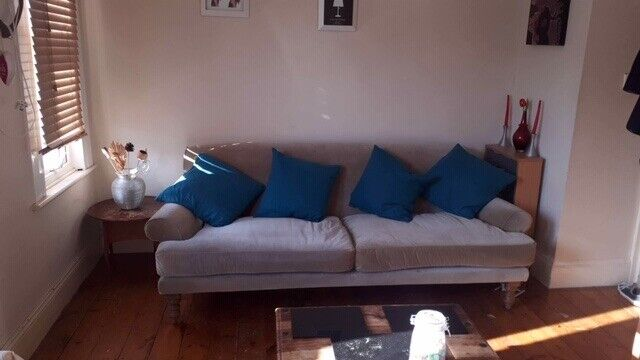 346e862e Designer 4 seat sofa (£2500 new 18 months ago) | in Forest Hill, London |  Gumtree