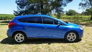 2012 Ford Focus LW MKII Trend Blue 5 Speed Manual Hatchback Tanunda Barossa Area Preview