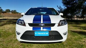 2010 Ford Focus LV XR5 Turbo Frost White 6 Speed Manual Hatchback Tanunda Barossa Area Preview