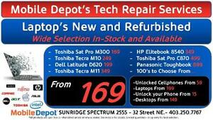 LAPTOPS STARTING AT $169 AT MOBILE DEPOT SUNRIDGE