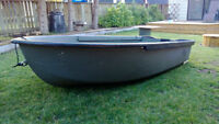 10 foot Fishing Boat with motor 6hp Evinrude