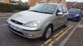 FORD FOCUS GHIA TOP OF THE RANGE MODEL FULL BLACK LEATHER DRIVE VERY GOOD