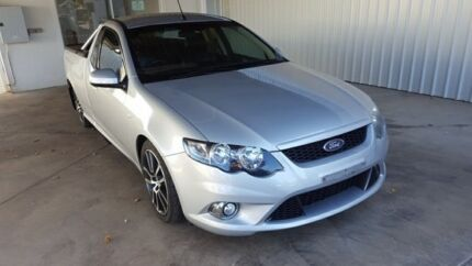 2011 Ford Falcon FG MkII XR6 Silver 6 Speed 6 Sp Auto Sequential Utility