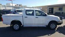 2009 Toyota Hilux KUN26R 09 Upgrade SR (4x4) White 5 Speed Manual Dual Cab Pick-up Maddington Gosnells Area Preview
