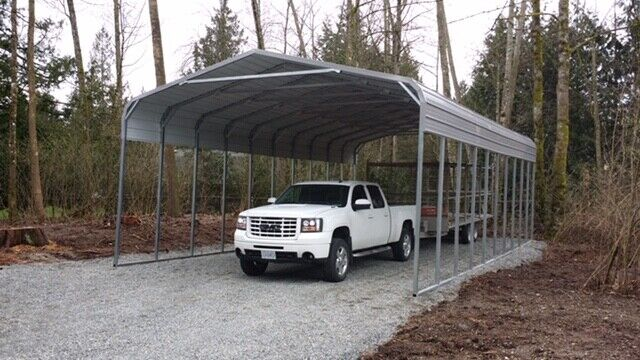 Metal Carport Shelters / Dry Storage / Cover Your Toys ...