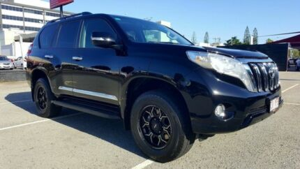2015 Toyota Landcruiser Prado KDJ150R TURBO GXL Black Auto Seq Sportshift Wagon Mackay Mackay City Preview