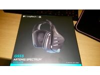 BRAND NEW SEALED LOGITECH G933 GAMING HEADSET, SELLING AS IT'S AN UNWANTED GIFT ONO LONDON SHIPPING.