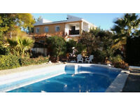 Holiday House for rent in Pedralba (Valencia) Spain