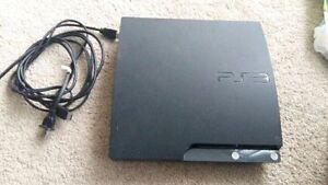 Playstation 3 Slim 120GB And 20 Games For Sale.