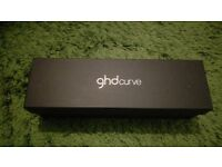 GHD curve curl wand with storage bag, heat mat and box - hair curling iron - curlers