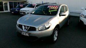 2013 Nissan Dualis J10W Series 3 MY12 ST Hatch X-tronic 2WD Silver 6 Speed Constant Variable Alexandra Headland Maroochydore Area Preview