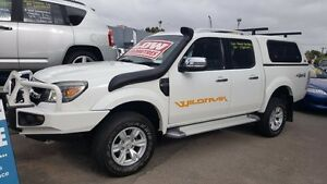 2011 Ford Ranger PK Wildtrak (4x4) White 5 Speed Manual Dual Cab Pick-up Medindie Walkerville Area Preview