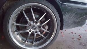 "19"" Staggered Piaa Rims W/ Great Tires (5x120)"
