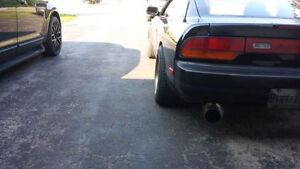 "240sx S13 Exhaust 3"" Stainless Cat-Back w/ 4"" tip"
