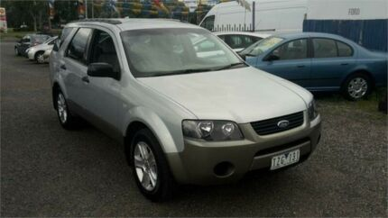 2006 Ford Territory SY TX (RWD) Silver 4 Speed Auto Seq Sportshift Wagon Bayswater North Maroondah Area Preview