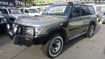 2002 Nissan Patrol GU III ST (4x4) Gold 4 Speed Automatic Wagon Homebush Strathfield Area Preview