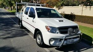 2005 Toyota Hilux KUN16R SR White 5 Speed Manual Dual Cab Pick-up Nailsworth Prospect Area Preview
