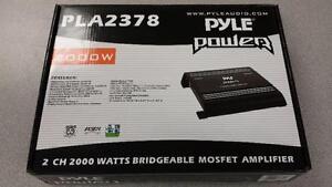 Pyle Power 2000W Bridgeable Car Amp