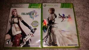 Final Fantasy XIII and XIII-2 for XBOX 360