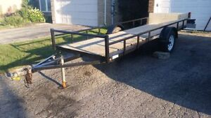 15 foot long utility trailer- Excellent condition