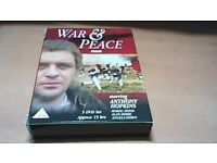 WAR & PEACE - 5 DVD BOX SET-ANTHONY HOPKINS-BBC SERIES