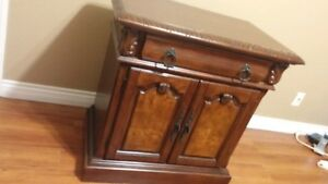 Antique Hardwood Mahogany dresser furniture