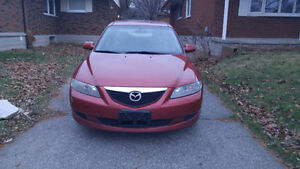 Ready to go 2005 Mazda 6