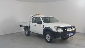 2010 Ford Ranger PK XL (4x4) Cool White 5 Speed Manual Perth Airport Belmont Area Preview