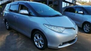 2007 Toyota Estima GSR50 2007 G SERIES G-Edition Silver 6 Speed Automatic Greenacre Bankstown Area Preview