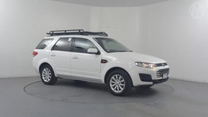 2014 Ford Territory SZ TX (RWD) Winter White 6 Speed Automatic Wagon Altona North Hobsons Bay Area Preview