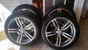 BMW MAGS 17'' Bolt pattern 5x120   (AUDI BMW MERCEDEs) 225-45-17