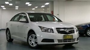 2009 Holden Cruze JG CD White 6 Speed Auto Sports Mode Sedan Artarmon Willoughby Area Preview